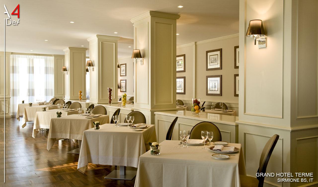 A4idea architettura e interior design grand hotel terme for Hotel design bs as