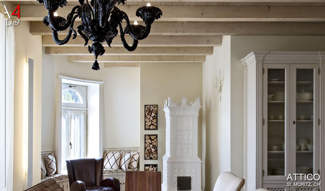 A4IDeA architettura e interior design Attico, Sankt Moritz, CH ...