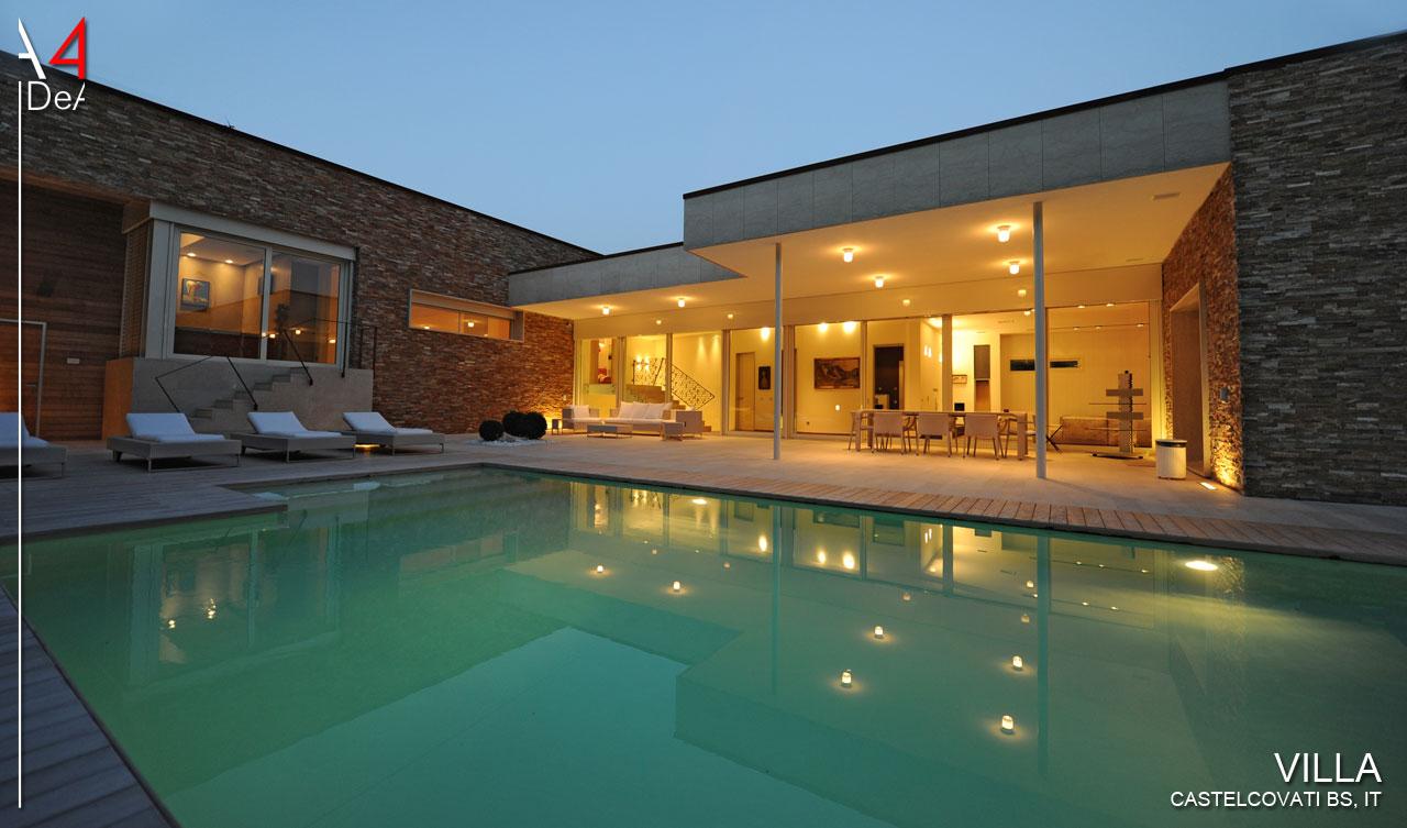 A4IDeA architettura e interior design Villa privata ...