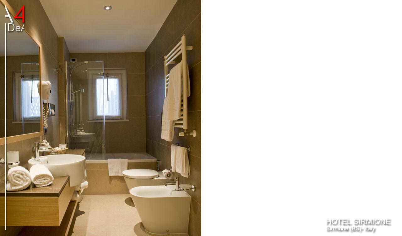 A4idea architettura e interior design hotel sirmione bs for Hotel design bs as
