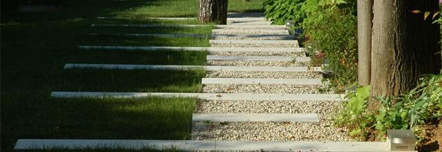 A4idea architettura e interior design giardino di villa for Giardino rimini