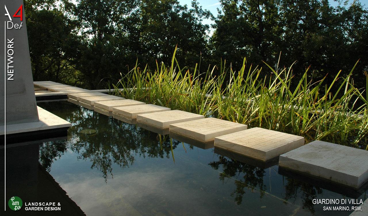 A4idea architettura e interior design giardino di villa a san ...
