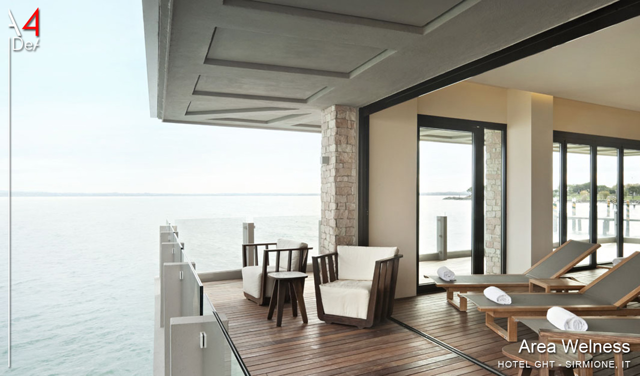 A4idea architettura e interior design spa castello hotel for Hotel design bs as