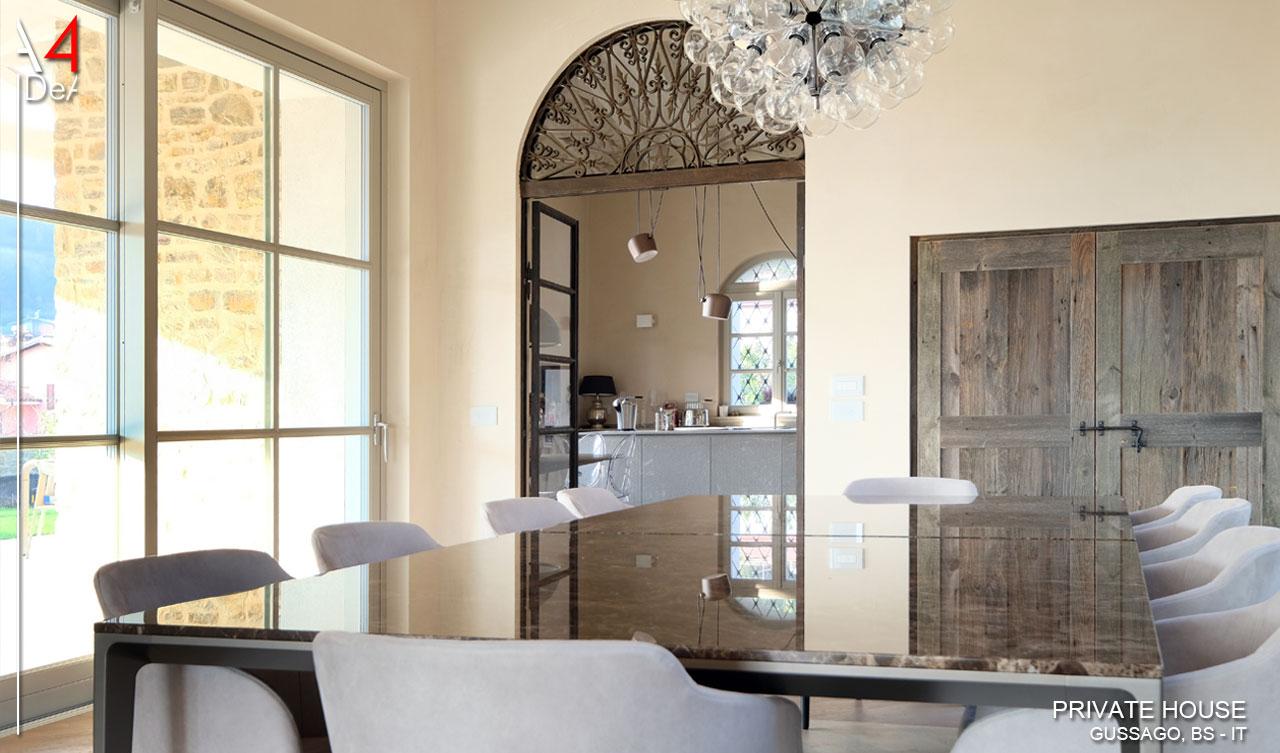 A4idea architettura e interior design villa singola gussago brescia it - Interior design brescia ...